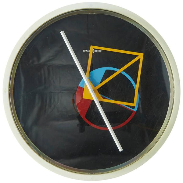 Geometric Wall Clock by George Nelson for Howard Miller