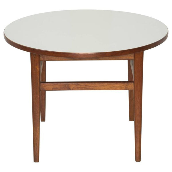 *SOLD* Jens Risom Attributed Mid-Century Modern Round Side Table