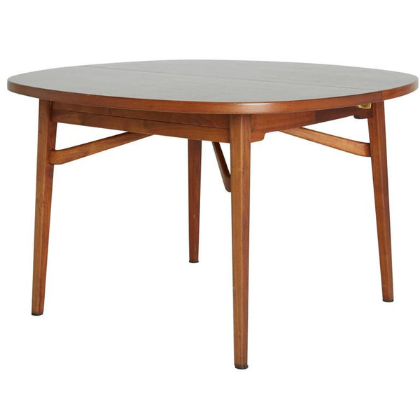 Jens Risom Teak Expandable Dining Table