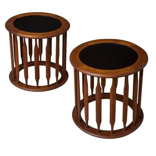 *SOLD* Kipp Stewart for Drexel Pedestal Side or End Tables