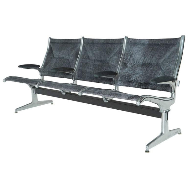 Three-Seat Tandem Sling Bench by Eames for Herman Miller