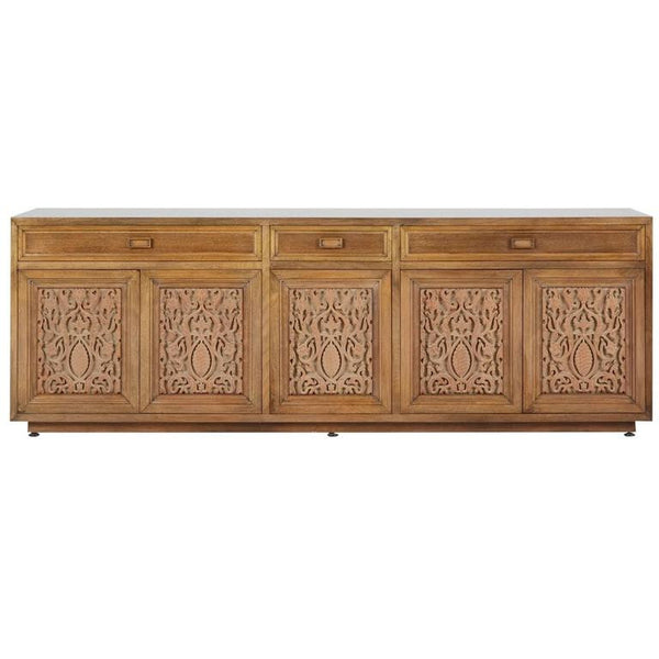 *SOLD* Monumental Custom Carved Credenza by Maurice Bailey for Monteverdi-Young