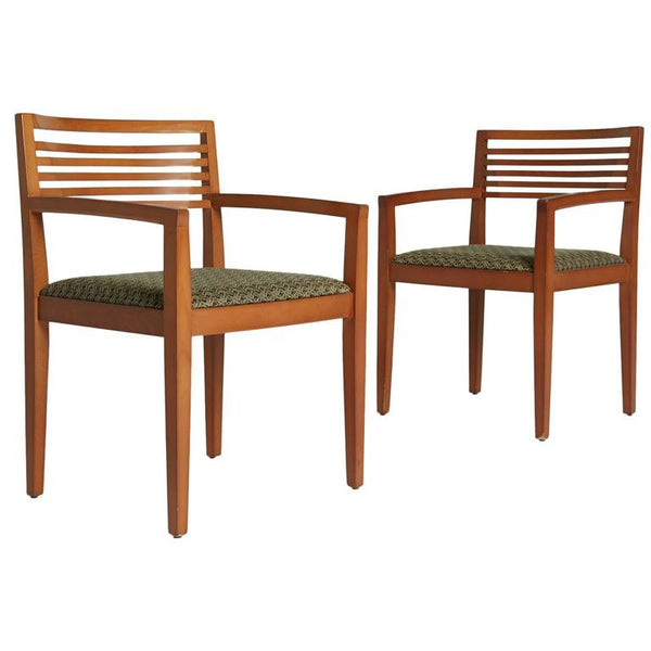 Pair of Ricchio Armchairs for Knoll