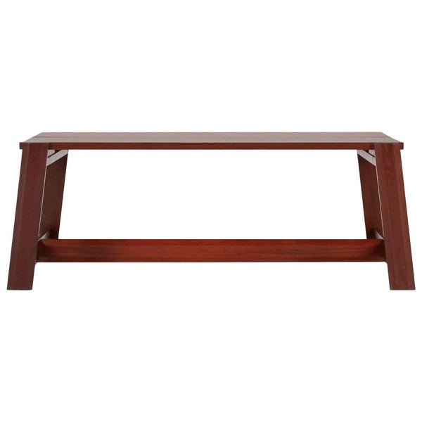 Sergio Rodrigues Large Mahogany Coffee Table for OCA Brazil