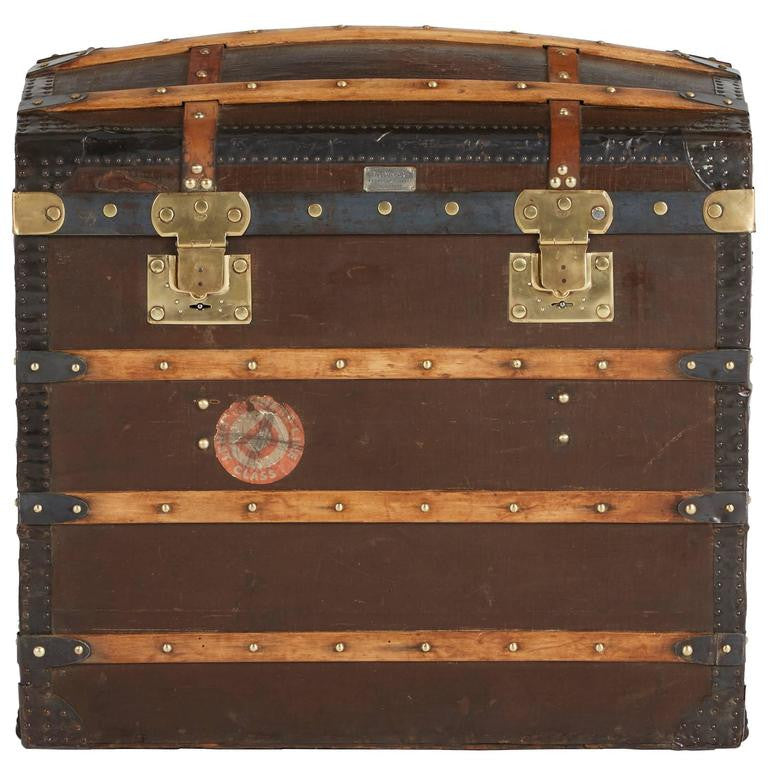 Moynat Steamer Trunk, French, 1920s