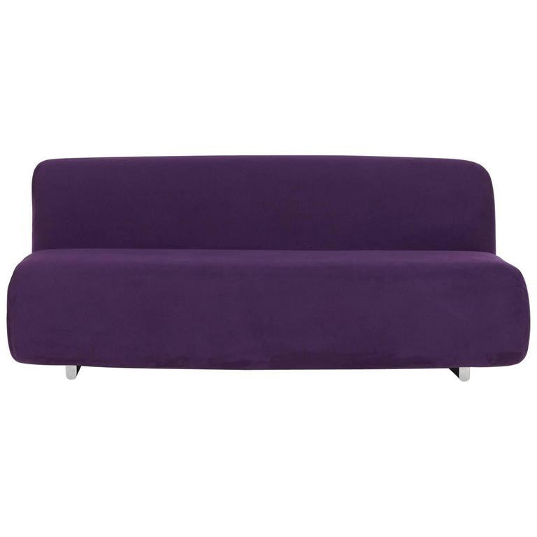 *SOLD* 'Suzanne' Sofa in Ultra-Suede by Kazuhide Takahama for Knoll