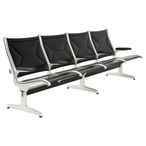 Tandem Sling by Charles Eames for Herman Miller, Four-Seat