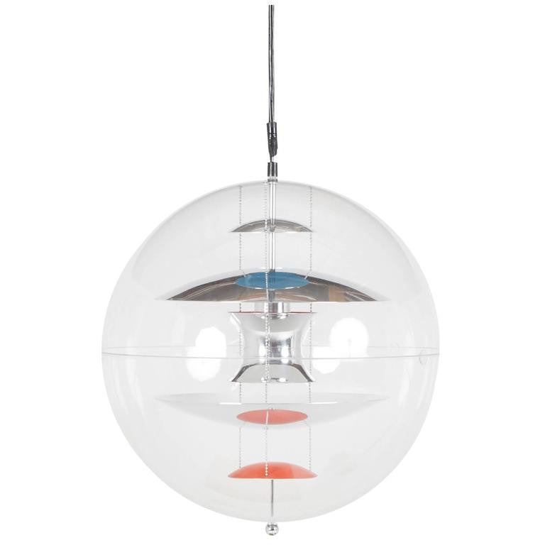 *SOLD* Large Verner Panton VP Globe Pendant Lamp