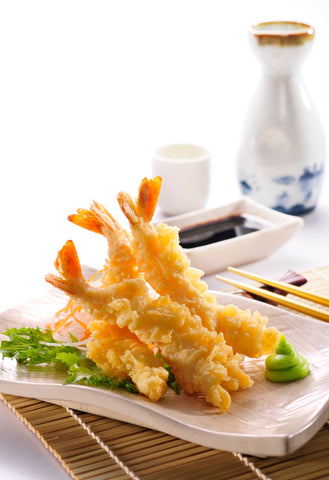 Tempura Battered Torpedo Prawns