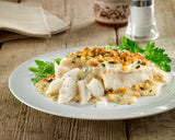 Cod Fillets in White Wine, Lemon & Tarragon Sauce