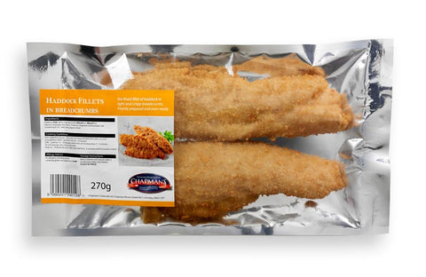 Haddock Fillets in Breadcrumbs
