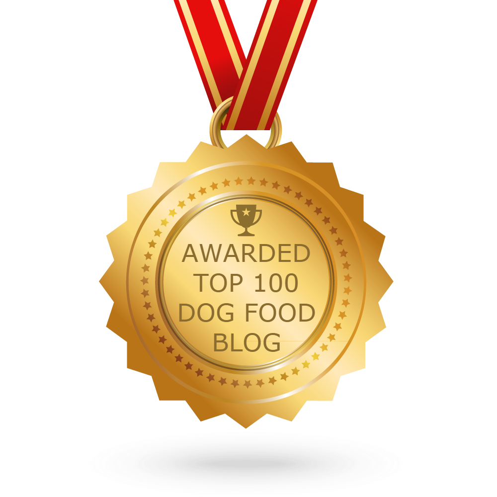 We've Made The TOP 100 Dog Food Blogs on the Planet!