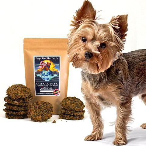 dogs for the earth organic dehydrated dog food - organic dog food - dehydrated dog food dog food for hikes - the best dog food