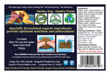 Organic dehydrated dog food - groovin' with goat -dogs for the earth