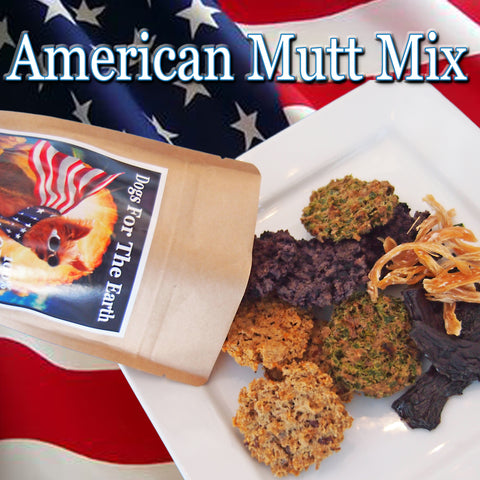 American Mutt Mix Organic Dehydrated Dog Treats