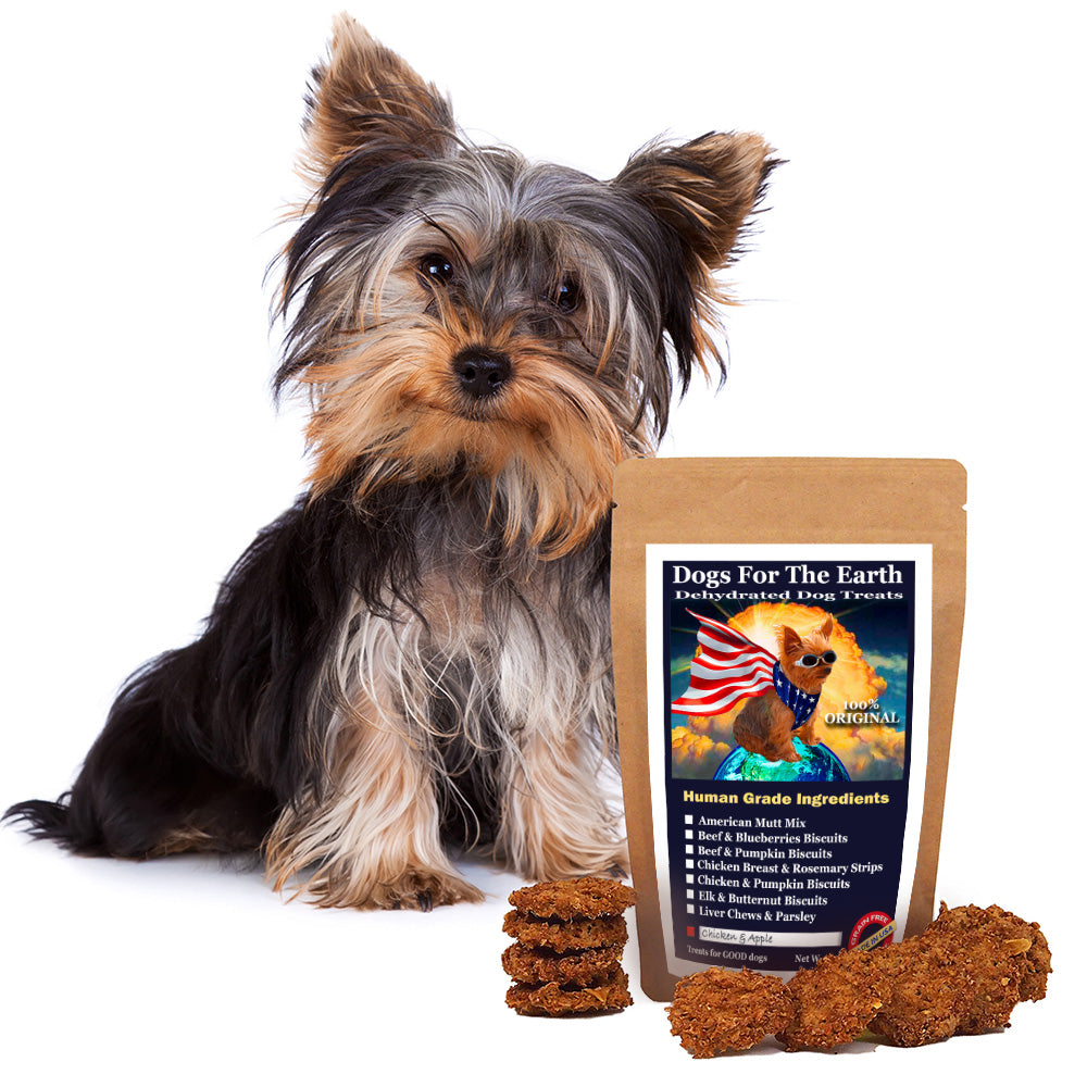 Chicken and Apple Original Dehydrated Dog Treats