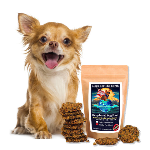 Smilin' For Salmon Dehydrated Dog Food