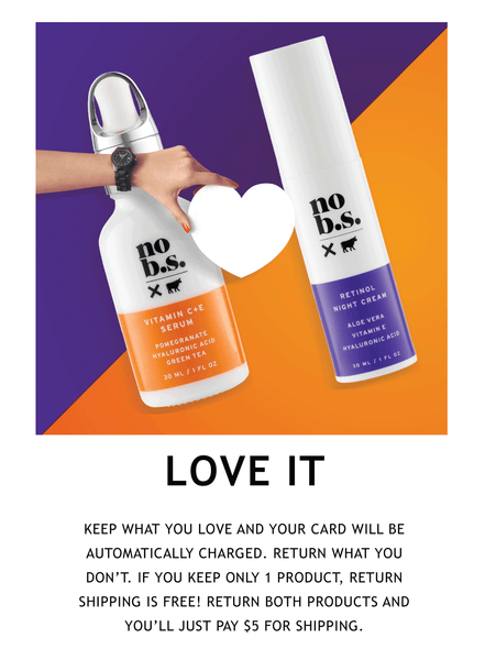 Love No BS Fresh and Smooth Duo