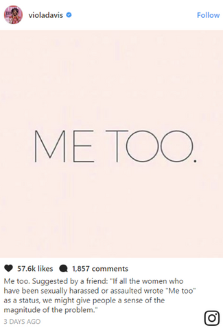 Me too is one too many (sexual assault)- No B.S. blog