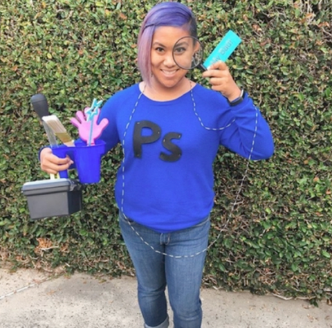 Photoshop Halloween costume