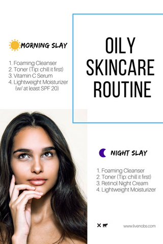 No B.S. blog oily kincare routine