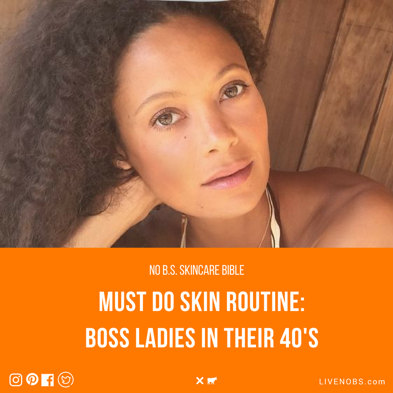No b.s. skincare guide for women age 40