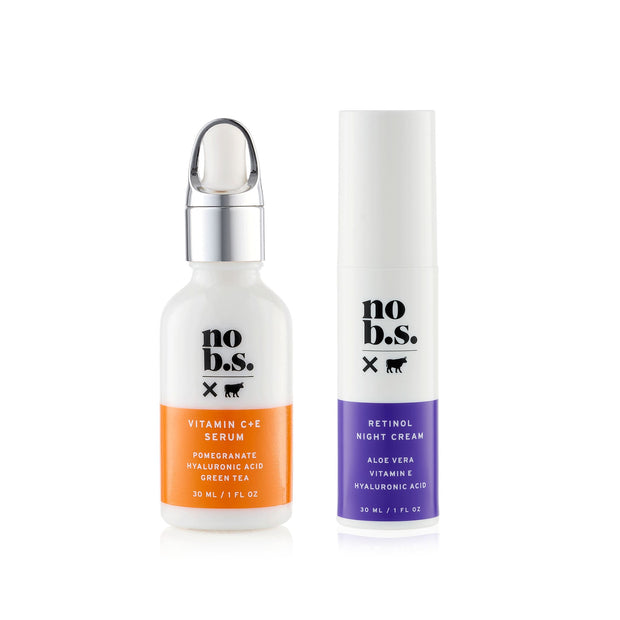 Fresh + Smooth Duo - No B.S. Skincare products