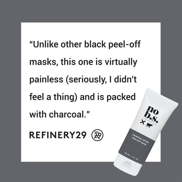 Charcoal Detox Peel-Off Mask - No B.S. Skincare products
