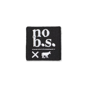 Bold AF Iron on Patches (12 Designs) - No B.S. Skincare products