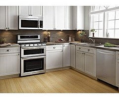 Stainless steel is dominant finish for kitchen appliances