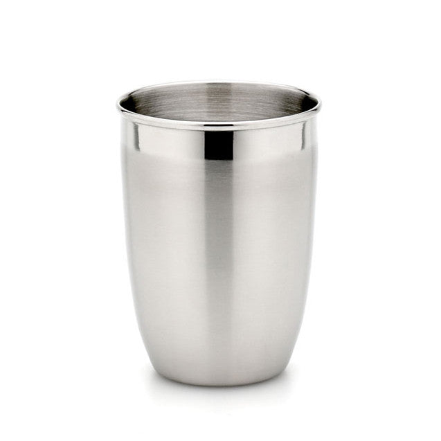 StainlessLUX 71103 Two-tone Harmony Stainless Steel Tumbler / Drinking Glass (12 Oz)