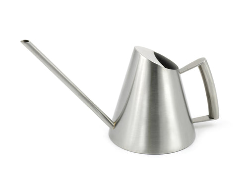 StainlessLUX 72253 Brushed Small Stainless Steel Watering Can (27 Oz)
