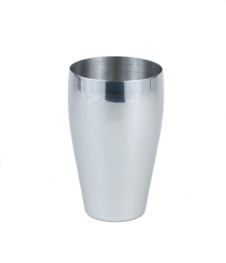 StainlessLUX 73259 Brilliant Stainless Steel Drinking Glass / Water Tumbler / Pub Glass (18 Oz.)