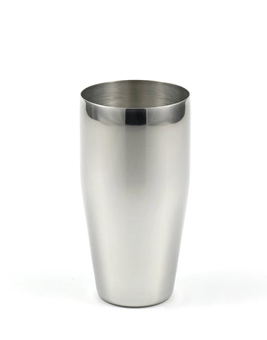 StainlessLUX 73305 Brilliant Stainless Steel Drinking Glass / Tumbler (24 Oz)