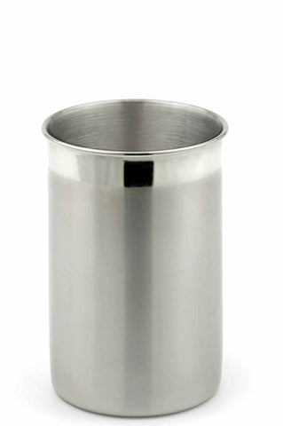 StainlessLUX 75333 Two-tone Stainless Steel Utensil Holder / Kitchen Crock