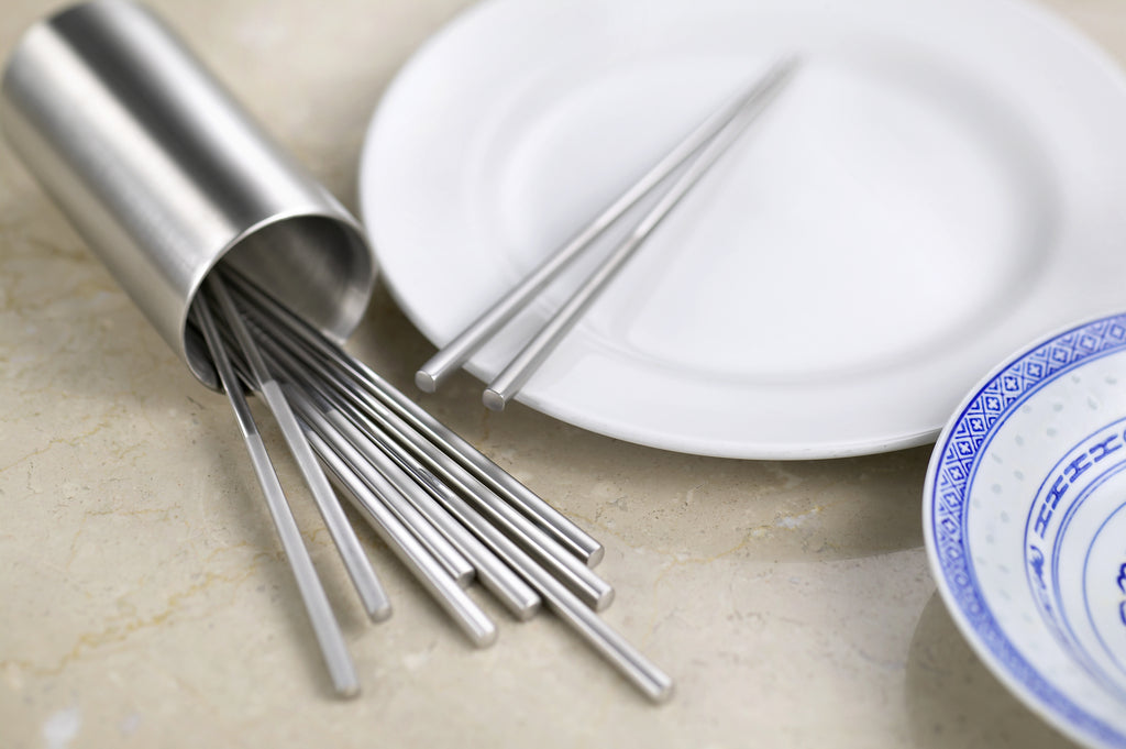 Be Authentic Eating with StainlessLUX 77508 Chopsticks for