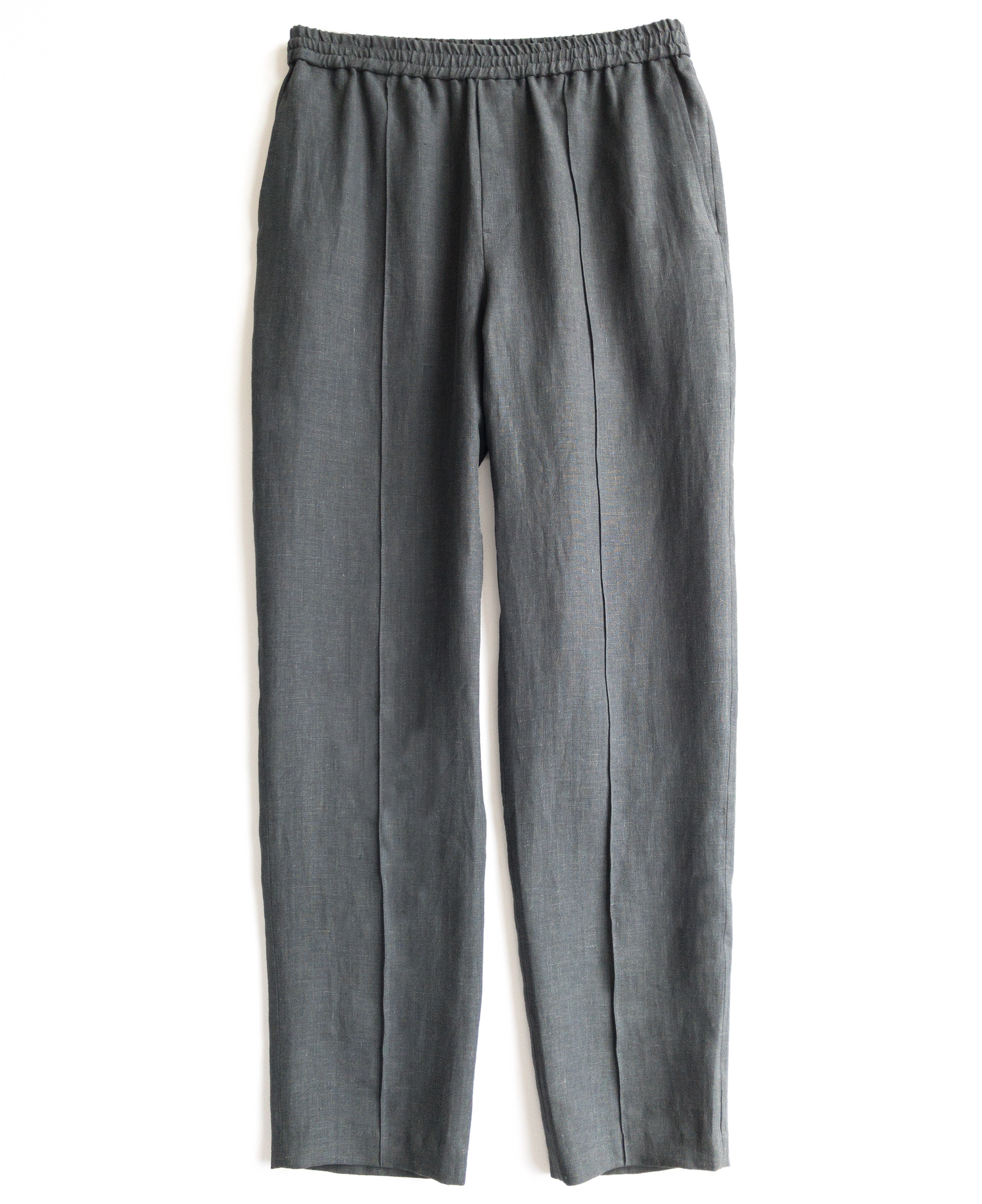 drawstring trouser / anthracite gray