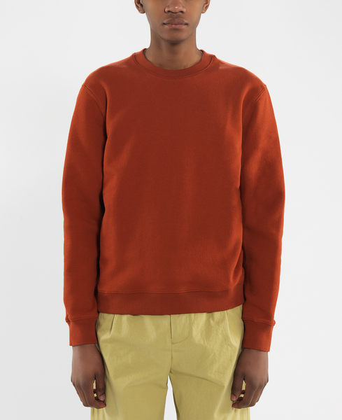 standard sweat / carnelian red