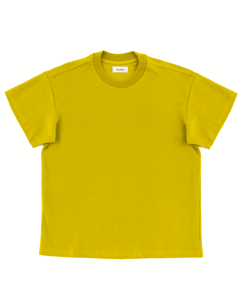boxy tee / lemon curry