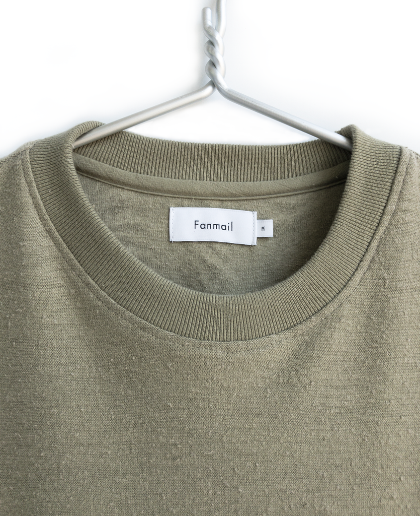 boxy tee / moss green - sold out
