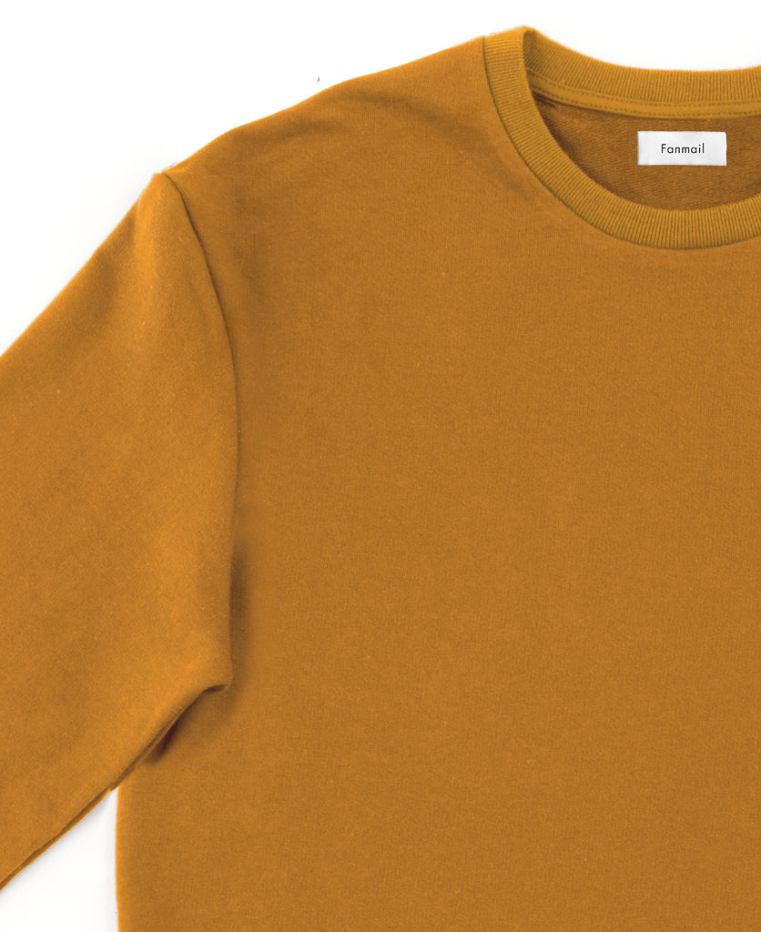 3/4 sweat / ochre