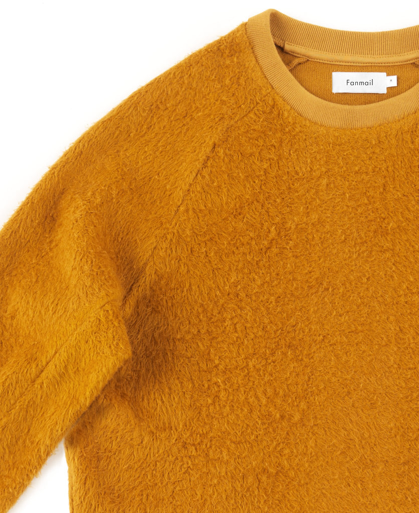 sherpa sweat / ochre
