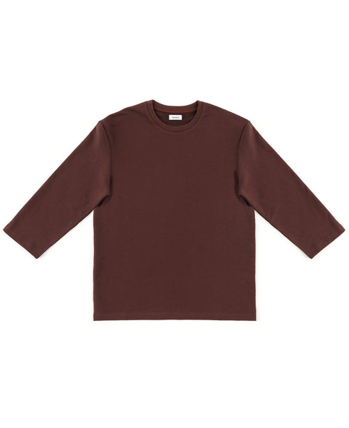 3/4 sweat / port red