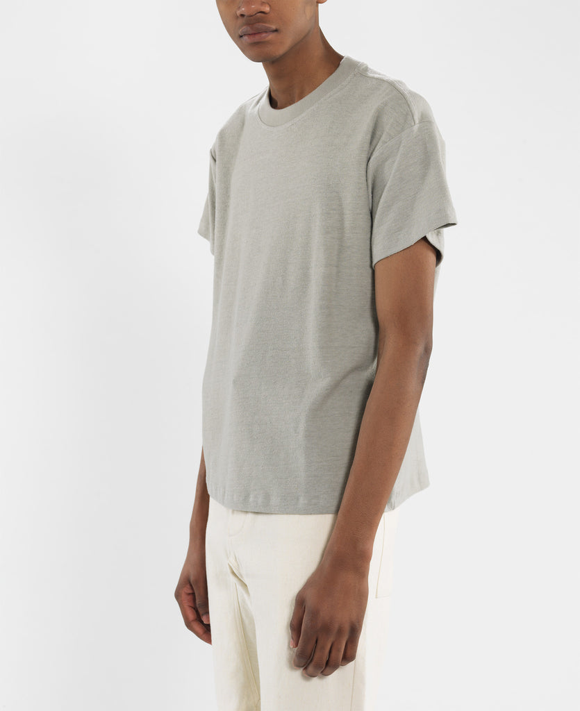 T - Shirt - Boxy Tee / Pewter Gray