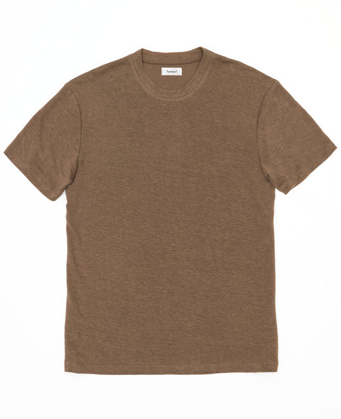 T - Shirt - Hemp Tee / Deep Taupe