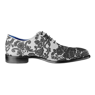 Damascus Series White Espresso Lace Ups