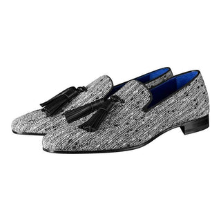 Tweed Legare Tassel Loafer