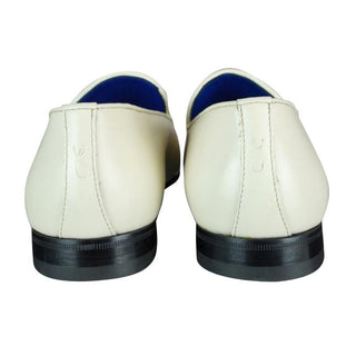 Classica Mascarpone With Silver Gold Hardware Leather Loafers