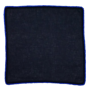 Navy Scuro with Blue Flake Signature Border