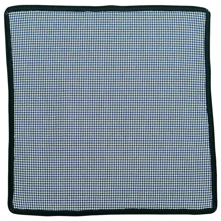 Houndstooth Mezzanotte with Black Signature Border